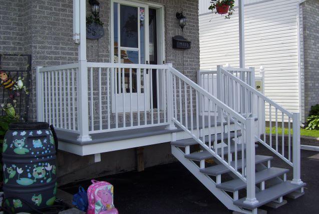 rampes en aluminium gatineau aylmer outaouais. Black Bedroom Furniture Sets. Home Design Ideas